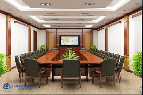Báo giá bộ bàn ghế phòng họp phụ thuộc vào kích thước sản phẩm