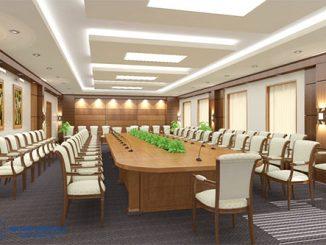 Báo giá bộ bàn ghế phòng họp bằng gỗ đẹp, giá rẻ nhất thị trường