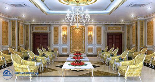 Đơn vị thiết kế nội thất phòng khánh tiết có phong cách phục vụ chuyên nghiệp, tận tình