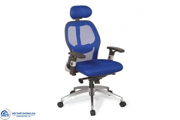 Mẫu ghế văn phòng đẹp bẳng vải lưới - ghế GX204B-HK