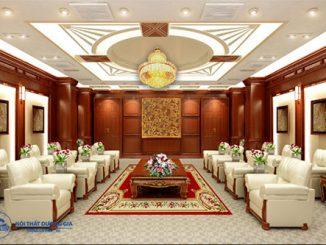 Phòng khánh tiết là gì? Đơn vị thiết kế nội thất phòng khánh tiết uy tín