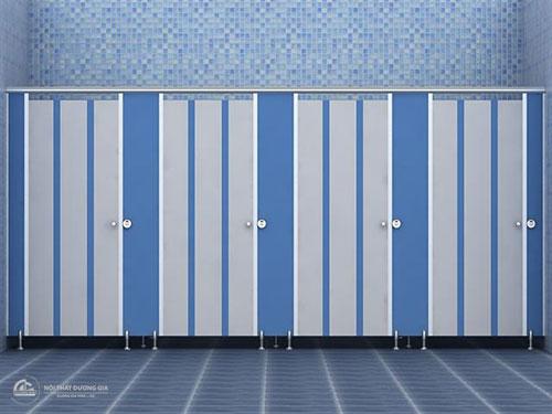 Thi công vách nhà vệ sinh tương ứng với nhu cầu sử dụng