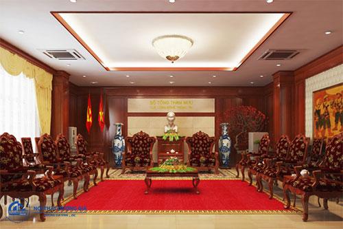 Đơn vị thiết kế nội thất phòng khánh tiết uy tín tại Hà Nội