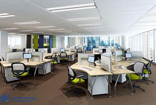 Thiết kế văn phòng theo tiêu chuẩn đảm bảo công năng
