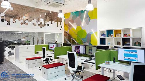 Tiêu chuẩn thiết kế văn phòng làm việc về tính thẩm mỹ