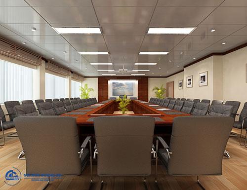 Thiết kế văn phòng rộng 100m2 đảm bảo sự chuyên nghiệp