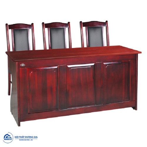 So sánh bàn ghế hội trường Hòa Phát và Xuân Hòa - bàn BHT12DH2 + ghế GHT11