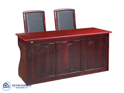 Bàn ghế hội trường Hòa phát: bàn BHT15DH4 + ghế GHT10