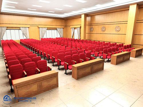 Báo giá bàn ghế hội trường Hòa Phát và Xuân Hòa - Ghế TC314B
