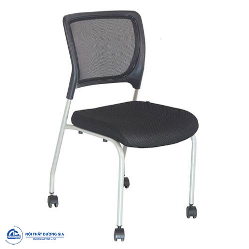 Ghế tựa lưng văn phòng với chân gắn bánh xe linh hoạt GT09-S