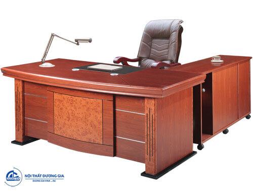 Mẫu bàn Giám đốc Hòa Phát DT1890H35
