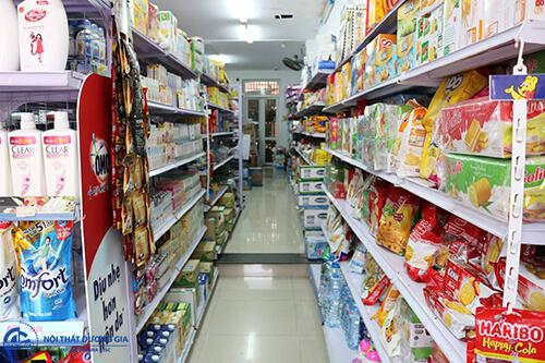 Yếu tố ánh sáng trong thiết kế siêu thị mini 100m2