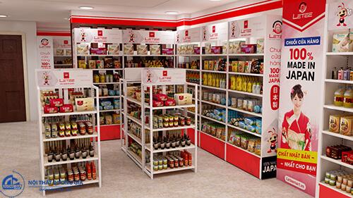 Cách bố trí nội thất khi thiết kế siêu thị nhỏ