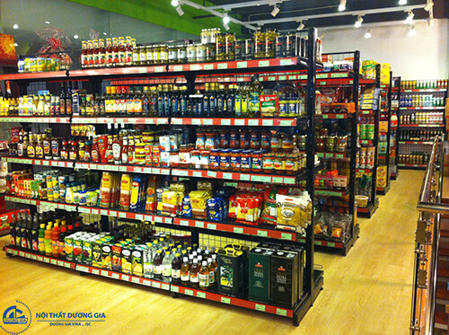 Thiết kế nội thất siêu thị mini với những món đồ phù hợp