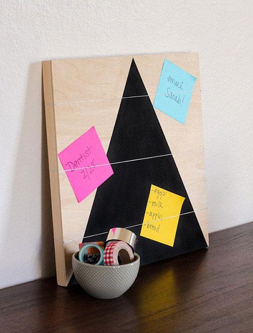 Bảng ghi chú dễ thương giúp trang trí bàn học