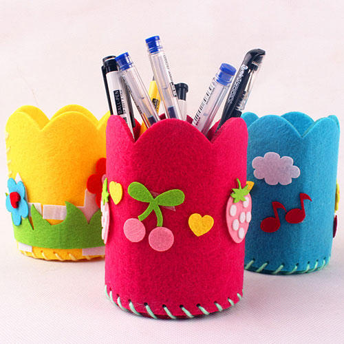 Làm hộp đựng bút dễ thương