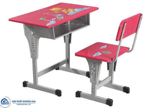 Mẫu bàn học BHS03 + ghế GHS03
