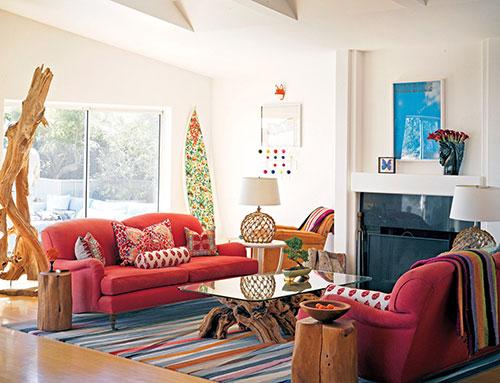 Phong cách bohemian trong nội thất thiết kế gần gũi với thiên nhiên