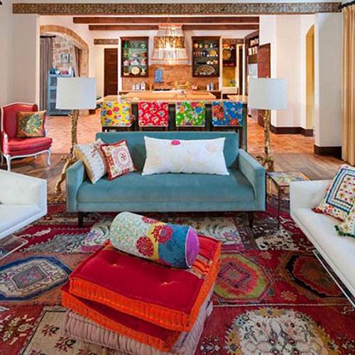 Phong cách bohemian trong nội thất là gì?