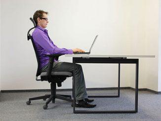 Những mẹo nhỏ giúp bạn có tư thế ngồi làm việc đúng và chuẩn nhất