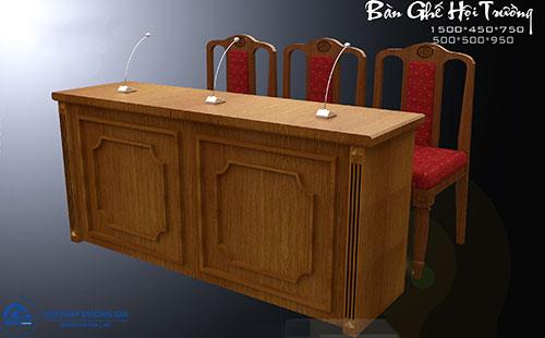 Mua bàn hội trường gỗ sồi, ghế hội trường gỗ sồi ở đâu?