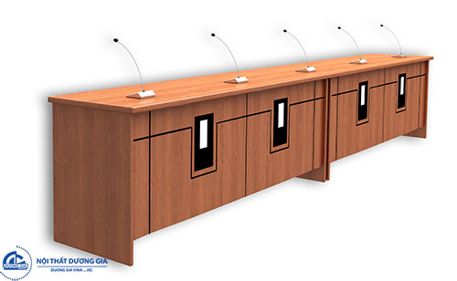 Ưu điểm của bàn ghế hội trường gỗ sồi