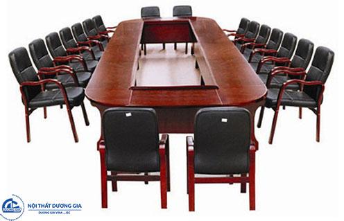 Cách lựa chọn bàn họp cho 20 người chuẩn nhất