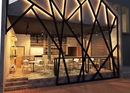 Bám sát mẫu thiết kế nội thất quán cafe
