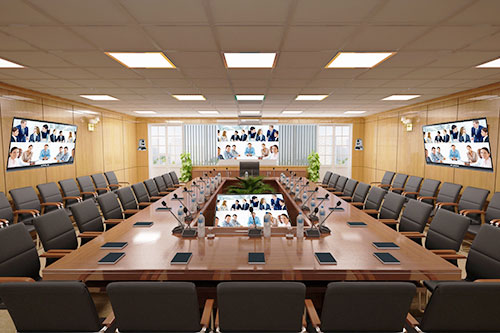 Thiết kế phòng họp trực tuyến cần chú ý tới điều gì?