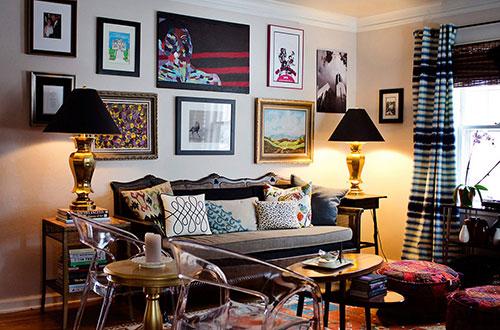 Không gian đẹp với phong cách nội thất retro