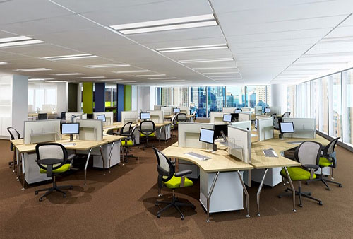 Cách chọn đồ nội thất khi thiết kế văn phòng 200m2