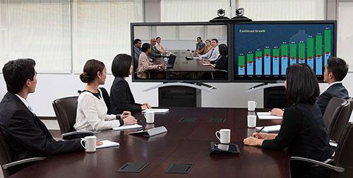 Chú ý tới màu sắc khi thiết kế phòng họp trực tuyến