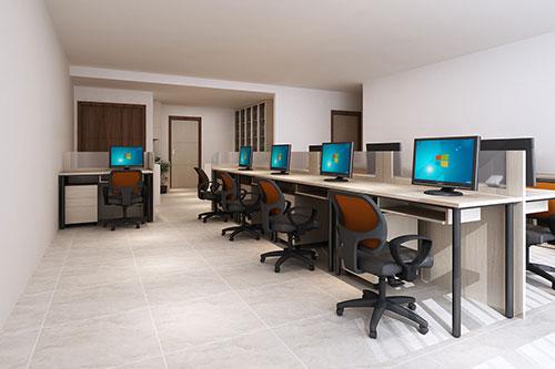 Thiết kế văn phòng 40m2 có khó không?