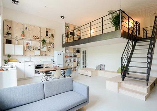 Mẫu nội thất nhà ở hiện đại đẹp