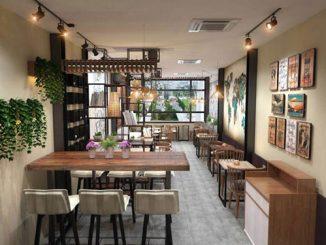 Điều gì tạo nên sức cuốn hút của thiết kế nội thất quán cafe hiện đại?