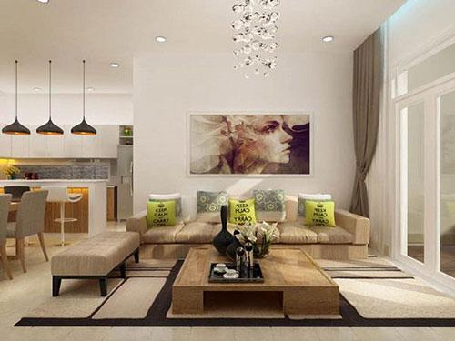 TOP 5 mẫu nội thất nhà phố hiện đại đẹp, cuốn hút mọi ánh nhìn