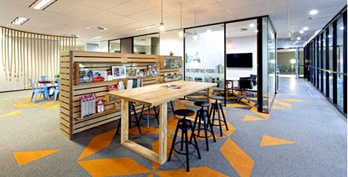 Xu hướng thiết kế nội thất văn phòng hiện đại sáng tạo, độc đáo