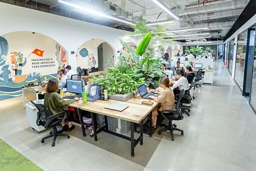 Những xu hướng thiết kế nội thất văn phòng hiện đại đẹp