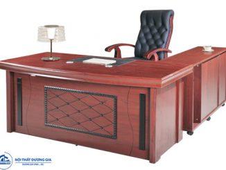 4 ưu điểm vượt trội giúp bàn Giám đốc gỗ công nghiệp luôn HOT