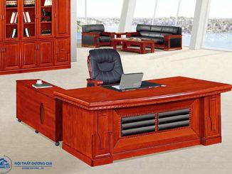 Mua bàn Giám đốc gỗ veneer cần phải chú ý tới những vấn đề gì?