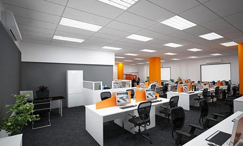 Phong cách thiết kế ảnh hưởng tới cách bố trí phòng làm việc tập thể
