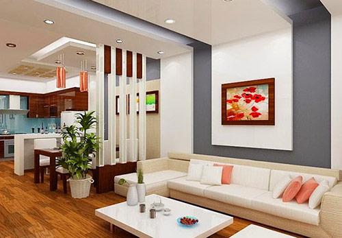 Đơn vị cung cấp vách ngăn gỗ phòng khách