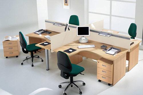 Thiết kế phòng làm việc cho nhân viên chú ý tới cách trang trí văn phòng