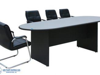 Tại sao bàn họp hình elip luôn được nhiều doanh nghiệp lựa chọn?