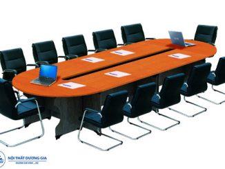 TOP 7 mẫu bàn họp hình oval giá rẻ được truy lùng nhiều nhất hiện nay