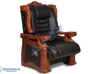 TOP 3 mẫu ghế Giám đốc không xoay thiết kế sang trọng, đẳng cấp