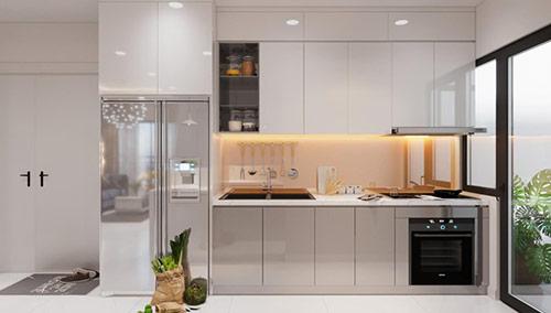 Cách thiết kế nội thất mẫu nhà bếp đẹp đơn giản theo hướng mở