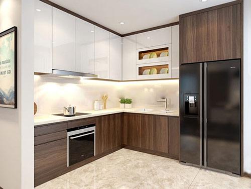 Lựa chọn nội thất trong mẫu nhà bếp đẹp, đơn giản