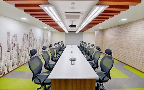 Trang trí phòng họp chi bộ đơn giản, lịch sự