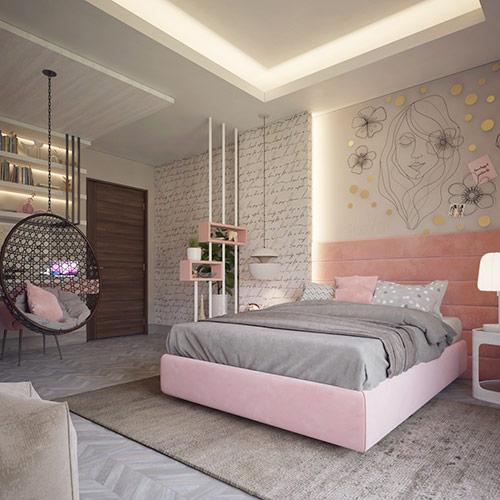 Hướng dẫn trang trí phòng ngủ dễ thương